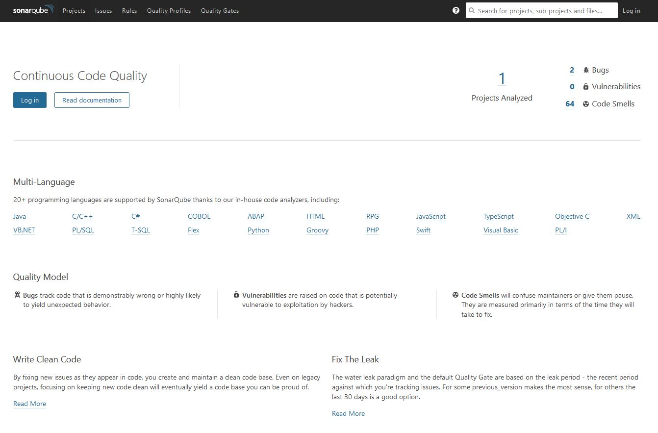 Create a SonarQube server in Azure running on Windows and SQL – 'The